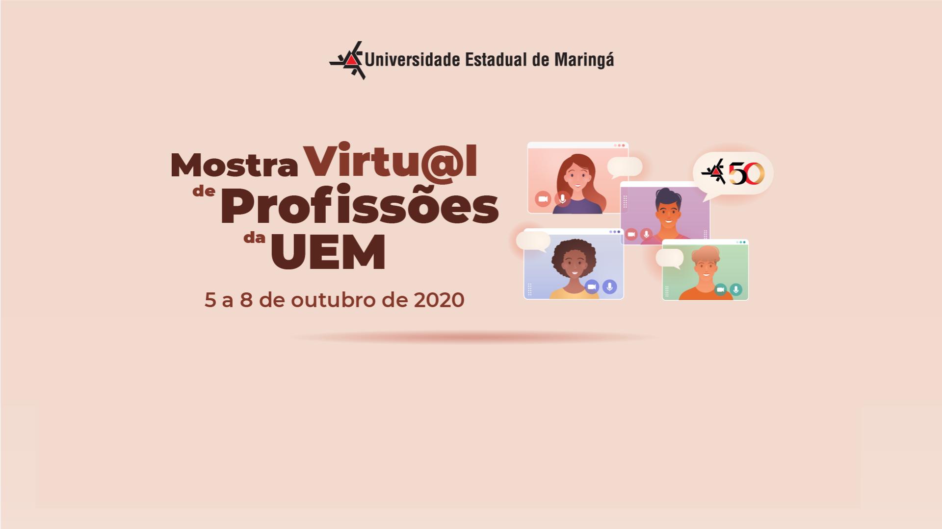 14ª Mostra de Profissões da UEM - 2020