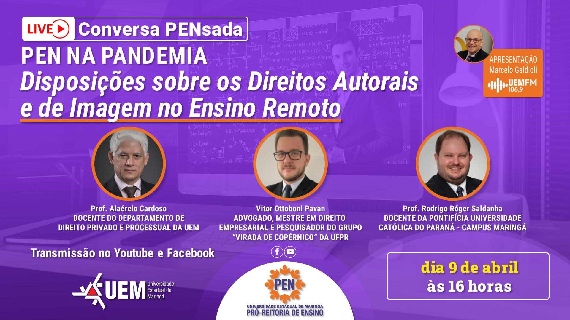 Live: Disposições sobre os Direitos Autorais e de Imagem no Ensino Remoto