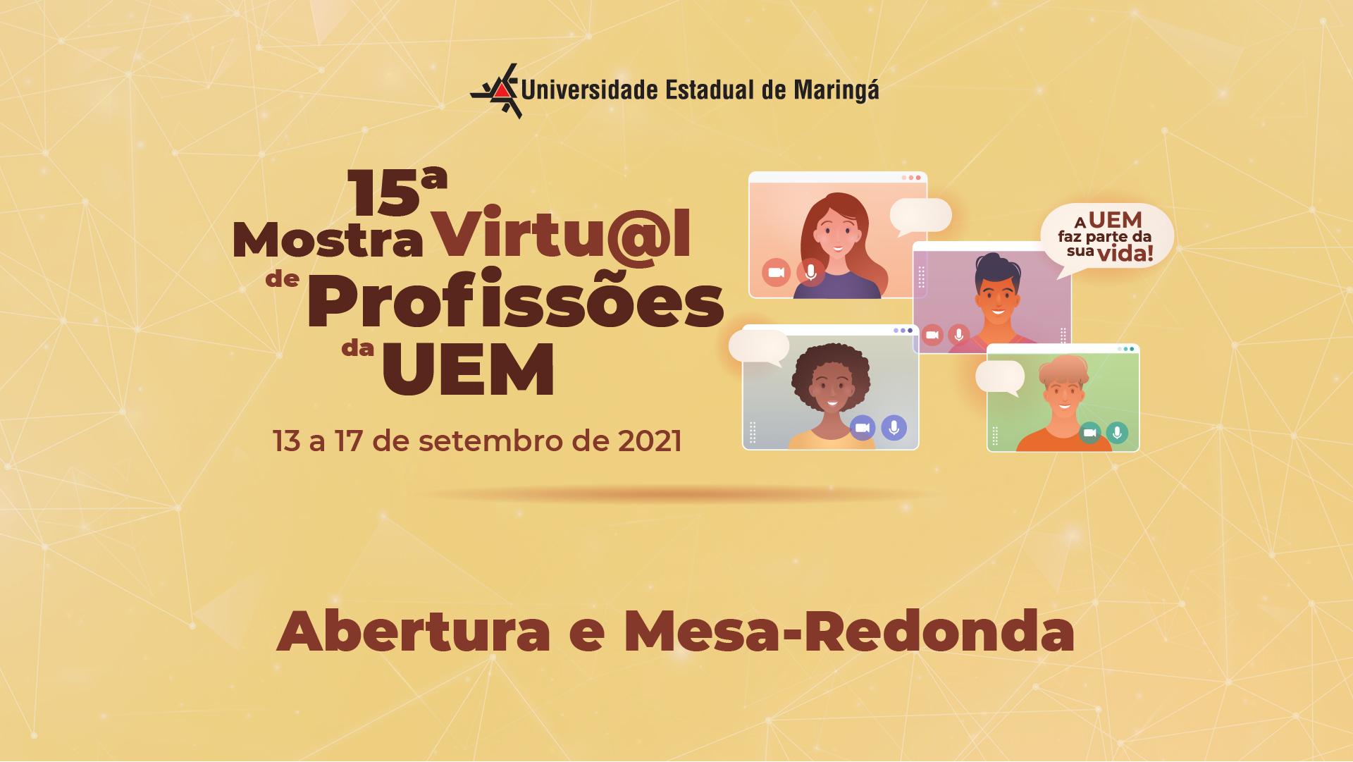 15ª Mostra de Profissões da UEM - 2021